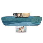 YC-193 Multifunctional Car Interior Rearview Mirror Large Field of Vision Anti-glare Auxiliary Car Blue Mirror