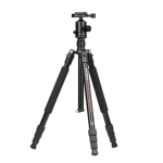 TRIOPO M2508 Multifunction Adjustable 4-Section Portable Aluminum Alloy Tripod Monopod with D-2A Ball Head for SLR Camera