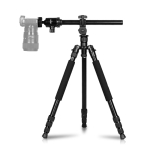 TRIOPO 652 Horizontal Arm Tripod Mount Quick Release Center Column Boom Bracket with Tripod Ball-Head
