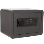 [US Warehouse] 0.62 Cubic Feet Home Office Double Safety Key Lock Digital Security Safe Box
