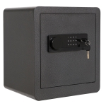 [US Warehouse] 1.5 Cubic Feet Home Office Double Safety Key Lock Digital Security Safe Box