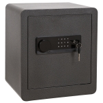 [US Warehouse] 1.5 Cubic Feet Digital Security Safe Lock Safety Box with LED Display & Deadbolt Lock