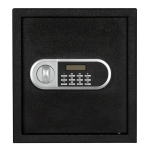 [US Warehouse] Home Use Electronic Password Steel Plate Safe Box, Size: 13x13x14.2 inch