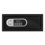 [US Warehouse] Home Use Electronic Password Steel Plate Safe Box, Size: 16.93×14.57×7.09 inch