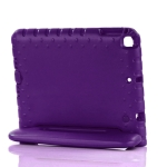 EVA Bumper Protective Case with Handle & Holder For iPad 9.7 inch (2018/2017)(Purple)