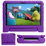 EVA Bumper Protective Case with Handle & Holder For Samsung Galaxy Tab A7 10.4 (2020) T500 / T505(Purple)
