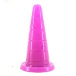 F37 Pointed Hat Shape Dildo Adult Supplies Sex Products, Length: 18.5cm, Diameter: 5.5cm(Purple)