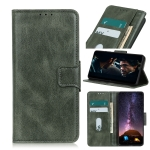 For UMIDIGI A9 Pro Mirren Crazy Horse Texture Horizontal Flip Leather Case with Holder & Card Slots & Wallet(Dark Green)