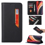 For Samsung Galaxy S21 5G Magnetic Horizontal Flip Leather Case with Holder & Card Slots & Wallet(Black)