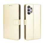 For Samsung Galaxy A32 5G Retro Crazy Horse Texture Horizontal Flip Leather Case with Holder & Card Slots & Lanyard(Gold)