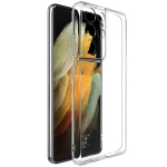 For Samsung Galaxy S21 Ultra 5G IMAK UX-5 Series Transparent Shockproof TPU Protective Case