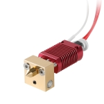 Creality 24V 40W Extruder Nozzle Hot End Kit with Temperature Thermistor & Heating Tube for Ender-3 3D Printer