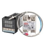REX-C100 Thermostat + Thermocouple + SSR-100 DA Solid State Module Intelligent Temperature Control Kit