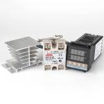 6600W REX-C100 Thermostat + Heat Sink + Thermocouple + SSR-60 DA Solid State Module Intelligent Temperature Control Kit