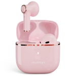 JOJOCAT J10 TWS Mini Bluetooth Earphone with Charging Box, Support Touch & Call & Voice Assistant & Reset & Clear Pairing (Pink)