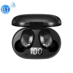 ROCK EB62 TWS Mini Bluetooth Earphone with Magnetic Charging Box, Support LED Power Digital Display & Call
