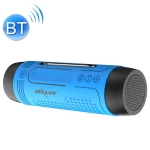ZEALOT A2 Multifunctional Bass Wireless Bluetooth Speaker, Built-in Microphone, Support Bluetooth Call & AUX & TF Card & LED Lights (Blue)