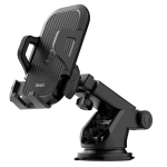 hoco CA76 Touareg One-touch Center Console Car Holder for 4.5-6.5 inch Mobile Phone (Black)