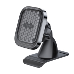 hoco S47 Fuerte Series Centre Console Magnetic Car Holder for 4.7-6.5 inch Mobile Phone (Black)