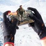 ROCK i28 Super Conductive Silver Fiber Anti-sweat Sensitive Touch Gaming Gloves