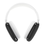 A Pair Full Coverage Anti-scratch Silicone Headphone Protective Case for AirPods Max (Black)