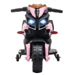 [US Warehouse] LEADZM LZ-919X 6V 4.5AH Small Ride-on Electric Motorcycle Children Toy with LED Headlights & Horn & Car Simulation Sound & Music(Pink)