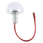 35mm 3W Semi-circular LED Bulbs, DC 5V (Warm White)