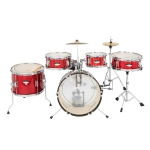 [US Warehouse] 5 in 1 16 inch Kids Junior Drum Set with Bass