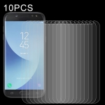 For Samsung Galaxy J5 (2017) 10 PCS 0.26mm 9H 2.5D Tempered Glass Film