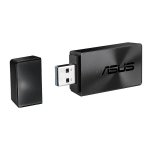 Original ASUS AC57 Dual Frequency 1300M USB 3.0 WiFi Adapter External Network Card, Support MU-MIMO