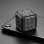 SQ16 1080P Mini HD Smart Camera, Support Night Vision & Motion Detection (Black)
