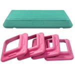 [US Warehouse] Gym Office Home Aerobic Rhythmic Exercise Gymnastics Fitness Pedal, Size: 72x36x20cm