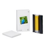 Original Xiaomi Mijia 1S Mini Automatic Pocket Photo Printer 3 inch Adhesive Photo Paper for PC5841 (White)