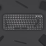 Original Xiaomi MIIIW 85 Keys 2.4GHz Mini Blutooth Dual-Mode Wireless Keyboard(Black)