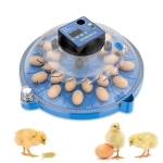Egg Incubator Small Round Automatic Home Intelligent Chicken Tool Double Electric Hatcher Specification: 24 PCS Fully Automatic