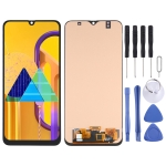 OLED Material LCD Screen and Digitizer Full Assembly for Samsung Galaxy M30s SM-M307