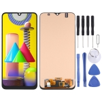 OLED Material LCD Screen and Digitizer Full Assembly for Samsung Galaxy M31 SM-M315
