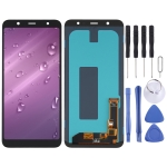 OLED Material LCD Screen and Digitizer Full Assembly for Samsung Galaxy J8 Plus SM-J805