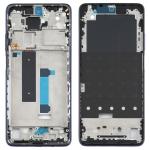 Original Front Housing LCD Frame Bezel Plate for Xiaomi Redmi Note 9 Pro 5G M2007J17C (Blue)