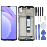 Original LCD Screen and Digitizer Full Assembly With Frame for Xiaomi Redmi Note 9 4G