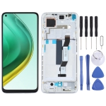 LCD Screen and Digitizer Full Assembly With Frame for Xiaomi Mi 10T Pro 5G / Mi 10T 5G / Redmi K30S M2007J3SC M2007J3SY (Silver)
