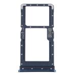 SIM Card Tray + SIM Card Tray / Micro SD Card Tray for Motorola Moto G9 Plus XT2087-1(Blue)