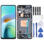 LCD Screen and Digitizer Full Assembly with Frame for Xiaomi Redmi K30 Ultra / M2006J10C (Black)