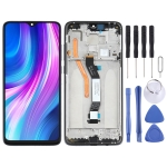 LCD Screen and Digitizer Full Assembly with Frame for Xiaomi Redmi Note 8 Pro(Single SIM Card)(Black)