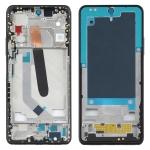 Original Front Housing LCD Frame Bezel Plate for Xiaomi Mi 11 (Black)