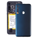 Original Battery Back Cover for Motorola Moto One Fusion Plus PAKF0002IN (Blue)