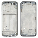 Front Housing LCD Frame Bezel Plate for Motorola Moto G Fast (Silver)