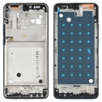 Front Housing LCD Frame Bezel Plate for Motorola One Hyper XT2027 XT2027-1 (Blue)