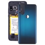 Original Battery Back Cover for Motorola One Hyper XT2027 XT2027-1(Blue)