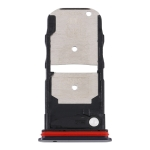 SIM Card Tray + SIM Card Tray / Micro SD Card Tray for Motorola Edge XT2063-3 (Black)